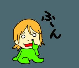 Just a little weird people. by Saichibi sticker #11975712