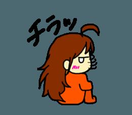 Just a little weird people. by Saichibi sticker #11975715
