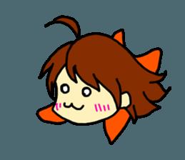 Just a little weird people. by Saichibi sticker #11975720