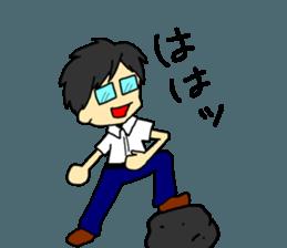 Just a little weird people. by Saichibi sticker #11975723