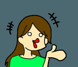 Just a little weird people. by Saichibi sticker #11975727