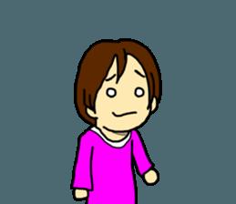 Just a little weird people. by Saichibi sticker #11975729
