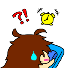 Just a little weird people. by Saichibi sticker #11975731