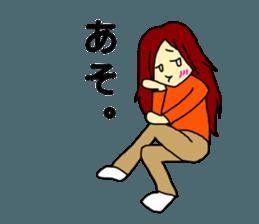 Just a little weird people. by Saichibi sticker #11975742