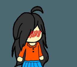 Just a little weird people. by Saichibi sticker #11975744