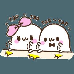 Marshmallow Girl & Boy.