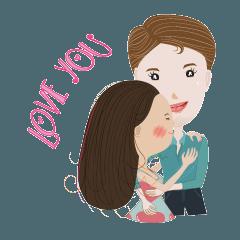 Love Dear Dtaa and Yaai ^_^