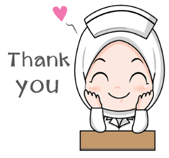 Lovely Muslimah Nurse sticker #11978719
