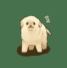 The Golden Retriever puppy!!2 sticker #11978751