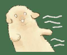 The Golden Retriever puppy!!2 sticker #11978760
