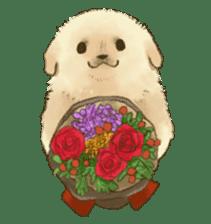 The Golden Retriever puppy!!2 sticker #11978768