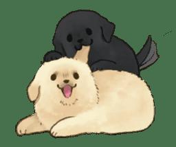 The Golden Retriever puppy!!2 sticker #11978779