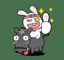 Kotaro Rabbit Ninja sticker #11982521