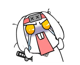 Kotaro Rabbit Ninja sticker #11982524
