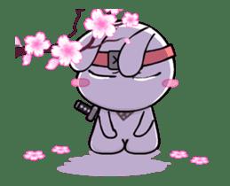 Kotaro Rabbit Ninja sticker #11982525