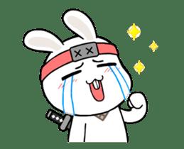 Kotaro Rabbit Ninja sticker #11982539
