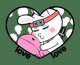 Kotaro Rabbit Ninja sticker #11982541