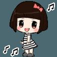 Noinae Dook Dik (Eng) | StampDB - LINEスタンプランキング