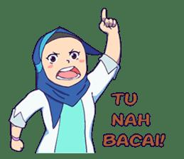 Banjar Hijab sticker #11994435
