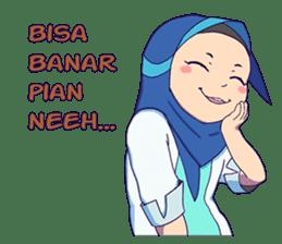 Banjar Hijab sticker #11994437