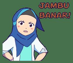 Banjar Hijab sticker #11994441