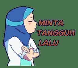 Banjar Hijab sticker #11994443