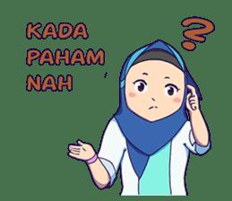 Banjar Hijab sticker #11994451