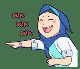 Banjar Hijab sticker #11994453