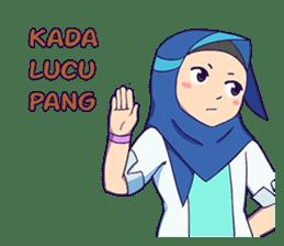 Banjar Hijab sticker #11994454