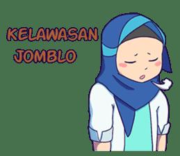 Banjar Hijab sticker #11994459