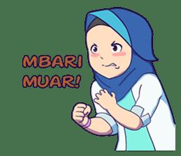 Banjar Hijab sticker #11994463