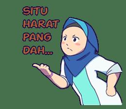 Banjar Hijab sticker #11994465