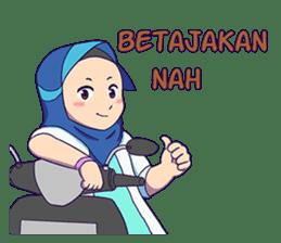 Banjar Hijab sticker #11994466