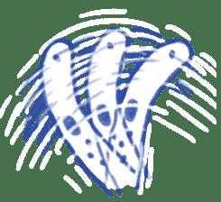 happy Spotted garden eel sticker #12001617