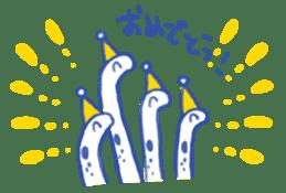 happy Spotted garden eel sticker #12001619