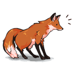 Flurry the fox sticker #12006647