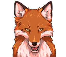 Flurry the fox sticker #12006649