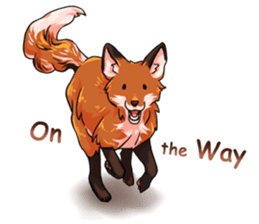 Flurry the fox sticker #12006665