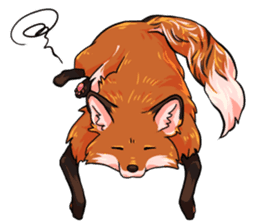 Flurry the fox sticker #12006672