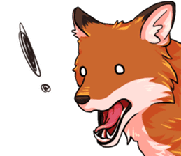 Flurry the fox sticker #12006673