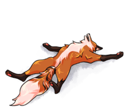 Flurry the fox sticker #12006678