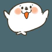 สติ๊กเกอร์ไลน์ Kawaii azarashi dayo. -animation-
