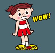 Pompon Chiaki (English ver.) sticker #12016442