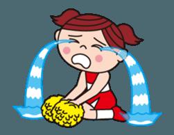 Pompon Chiaki (English ver.) sticker #12016443