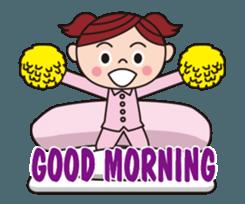 Pompon Chiaki (English ver.) sticker #12016444