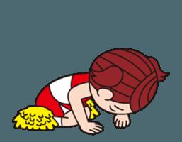 Pompon Chiaki (English ver.) sticker #12016446