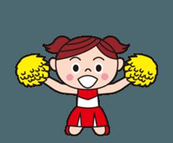 Pompon Chiaki (English ver.) sticker #12016448