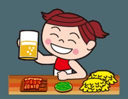 Pompon Chiaki (English ver.) sticker #12016453
