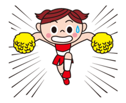 Pompon Chiaki (English ver.) sticker #12016454