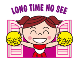 Pompon Chiaki (English ver.) sticker #12016456